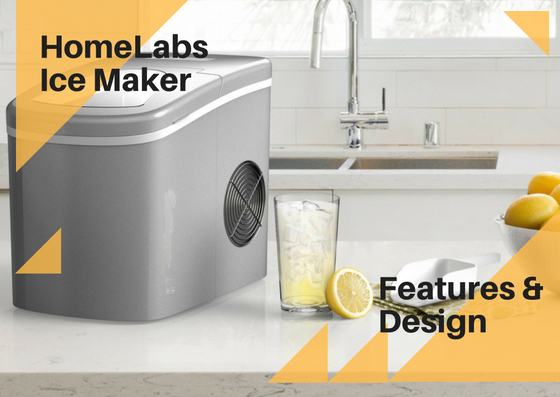 homelabs ice maker feautes