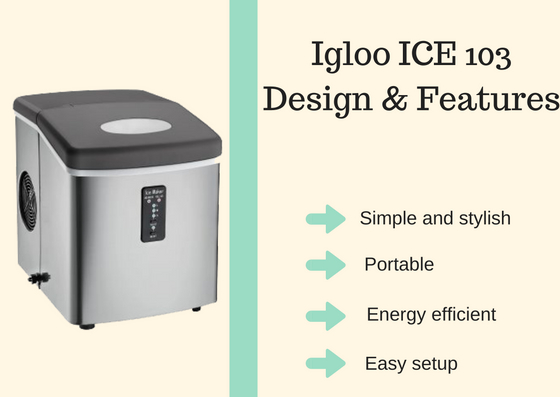 igloo ice103 features