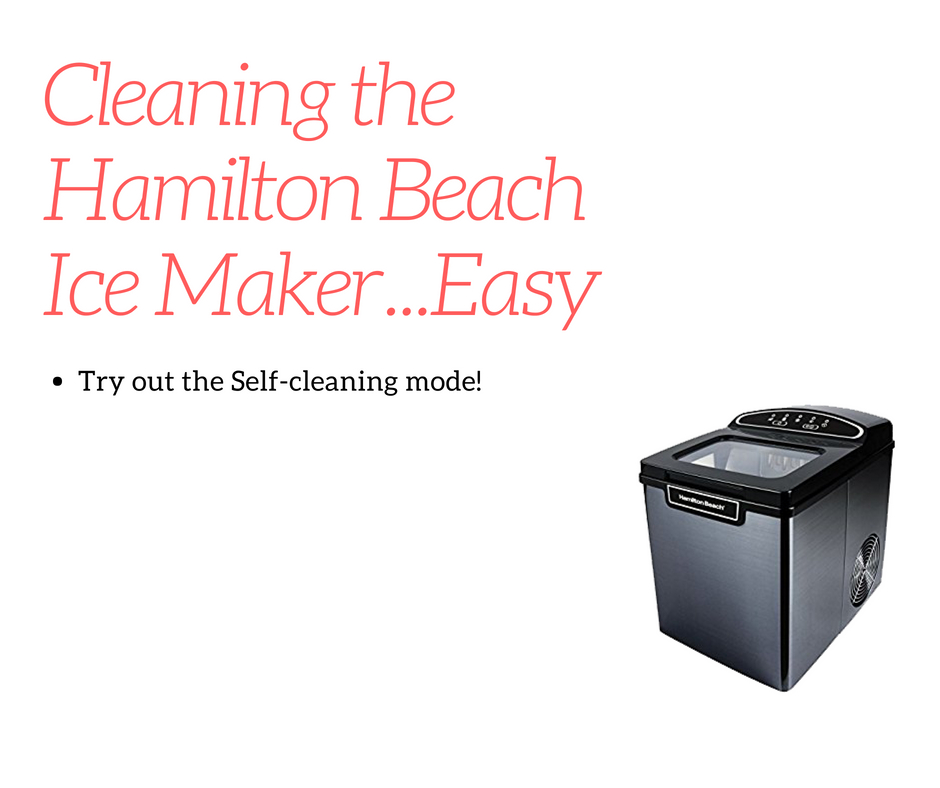 hamilton beach self cleaning